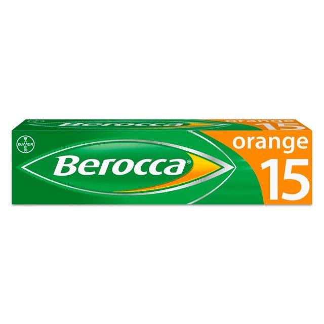 Vitamins For Energy >> Berocca Orange Energy Vitamin Tablets