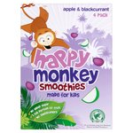 Happy Monkey Apple & Blackcurrant smoothie