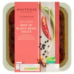 Waitrose Oriental Beef in Black Bean Sauce