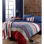 Catherine Lansfield Stars & Stripes Bed Set Single