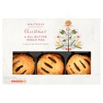 Waitrose Christmas Puff Pastry Mince Pies