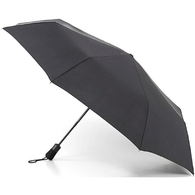 Jumbo Auto Open & Close Black Umbrella