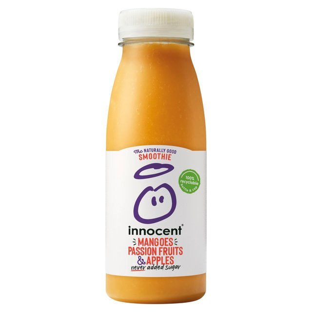 Offer Innocent Smoothie Mangoes Passion Fruits 250ml