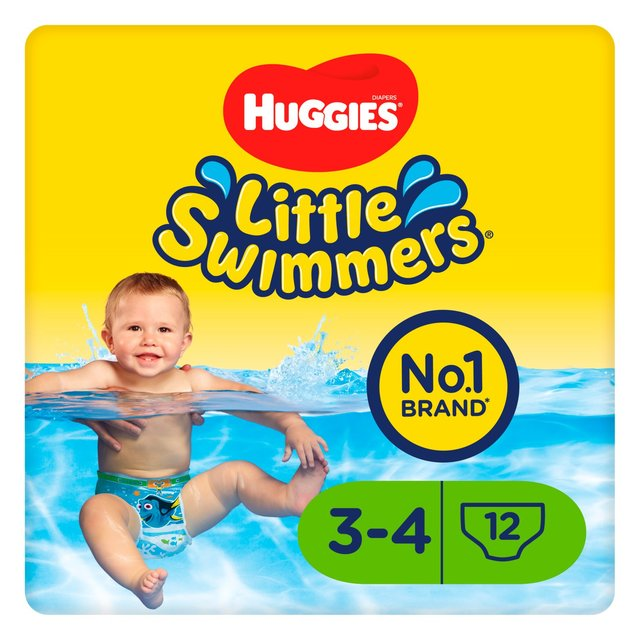 Huggies Little Swimmers Size 3-4