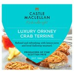 Castle MacLellan Orkney Crab Terrine with Lemon Juice & Mustard
