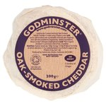Godminster British Oak-Smoked Vintage Organic Cheddar