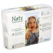 Naty by Nature Babycare Size 4+ Maxi Plus Medium Nappies 9-20kg