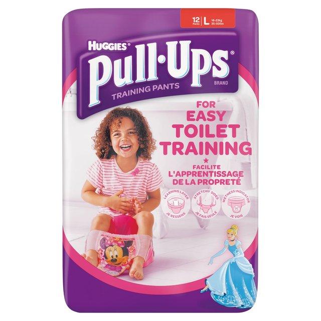 bee94f1456fee Huggies Pull Ups Girls Pants Large 14 per pack from Ocado
