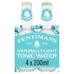 Fentimans Botanically Brewed Light Tonic Water