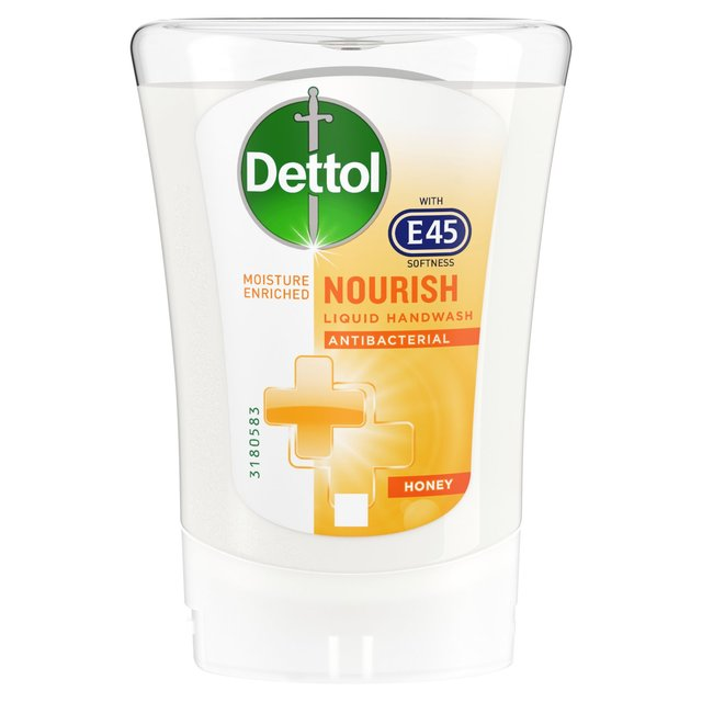 Dettol E45 No Touch Soap Refill Honey 250ml From Ocado