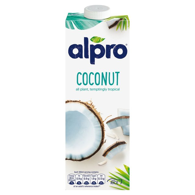 Alpro longlife coconut milk alternative 1l from ocado for Alpro coconut cuisine