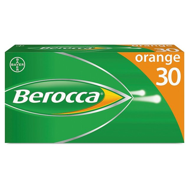 Berocca Effervescent Tablets, Orange