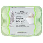 Clarence Court Leghorn White Eggs