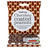 Waitrose Belgian Milk Chocolate Peanuts