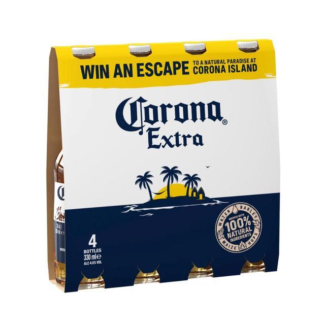 Corona Extra 4 X 330ml From Ocado