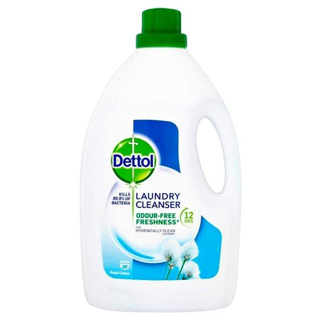 Dettol Laundry Cleanser Odour-Free Fresh Cotton | Ocado