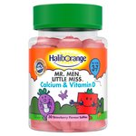 Haliborange Mr. Men & Little Miss Calcium & Vitamin D Softies