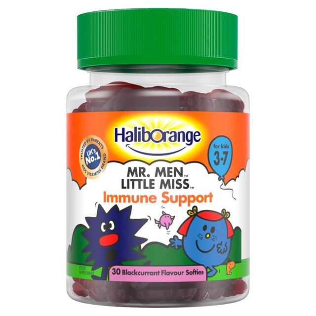 Haliborange Mr. Men Little Miss Immune Support Softies