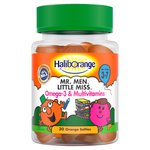 Haliborange Mr. Men Little Miss Omega 3 & Multivitamin Softies