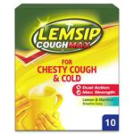 Lemsip Max Chesty Cough & Cold Lemon & Menthol Sachets