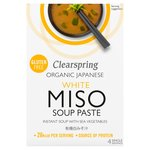 Clearspring Organic White Miso Instant Soup Paste