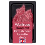 Waitrose 2 British Beef Bavette Steaks