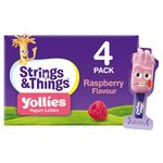 Yollies Raspberry Yogurt Lolly