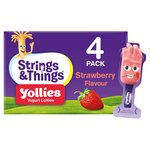 Yollies Strawberry Yogurt Lolly