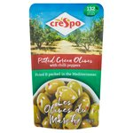 Crespo Pitted Green Olives with Chilli