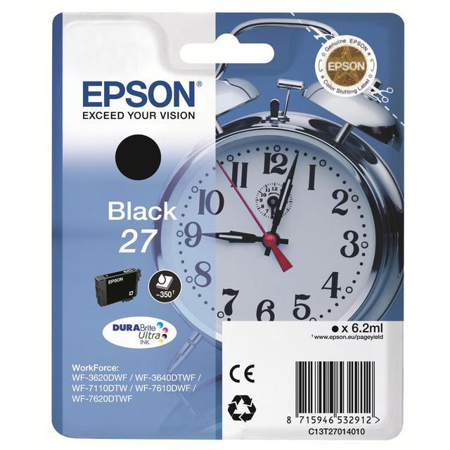 Epson T2701 Black Inkjet   Ocado