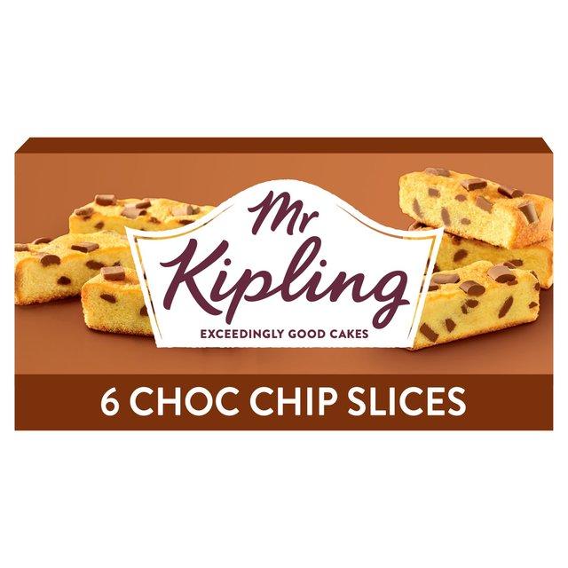 Mr Kipling Chocolate Chip Cake Bars