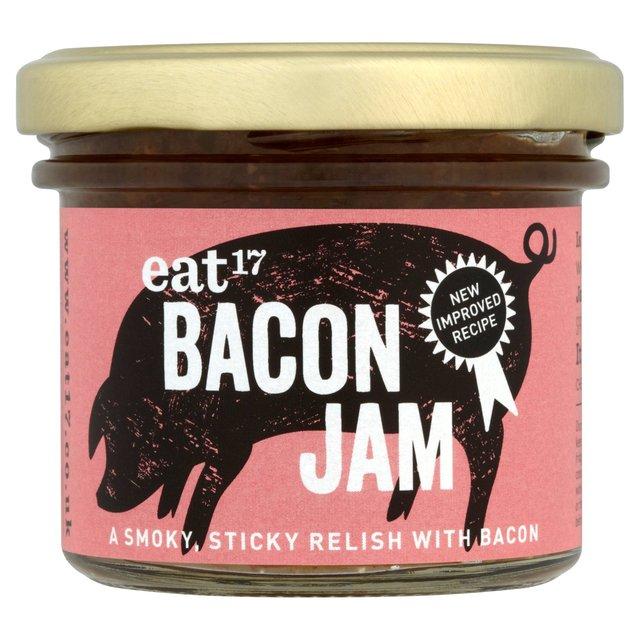 Eat 17 Bacon Jam 105g from Ocado