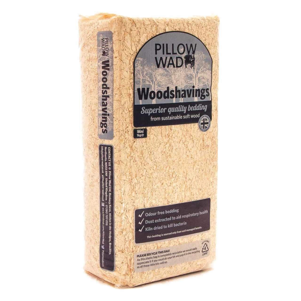Pillow Wad Wood Shavings at Fetch co uk   The Online Pet Store