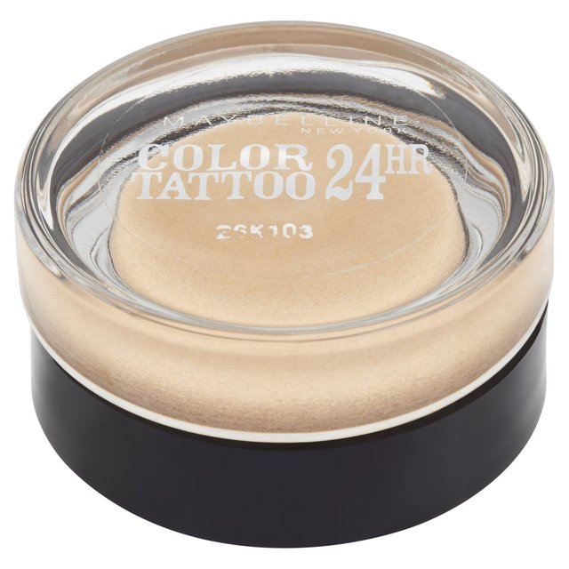 Maybelline eyeshadow color tattoo eternal gold 05 53g for Maybelline color tattoo gel eyeshadow