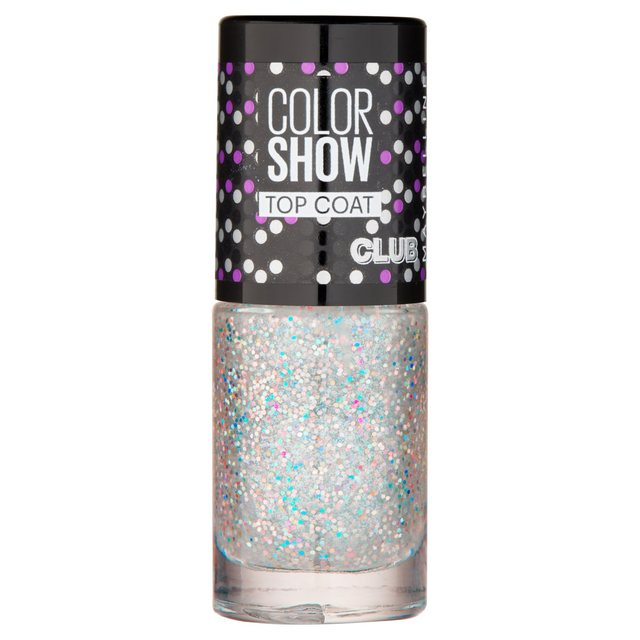 Maybelline Nail Color Show, Glitter It 293 7ml from Ocado