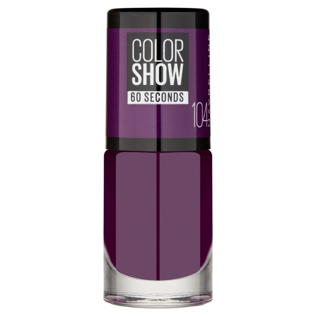 Maybelline Nail Varnish Color Show, Noite de Gal 104
