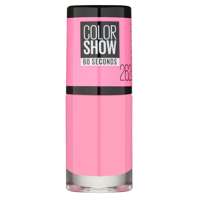 Maybelline Nail Color Show, Pink Bloom 262
