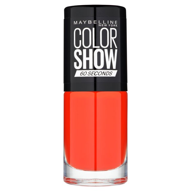 Maybelline Nail Color Show, Power Red 349