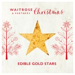 Waitrose Christmas Edible Gold Stars
