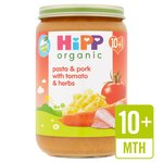 HiPP Organic Pasta & Pork with Tomatoes & Herbs