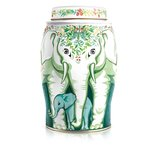 Williamson Tea Winter Wreath Elephant Gift Caddy Earl Grey Tea