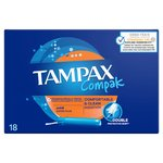 Tampax Compak Super Plus Tampons 18ct