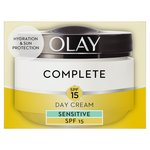 Olay Essentials Complete Care Moisturiser UV Cream Sensitive SPF 15