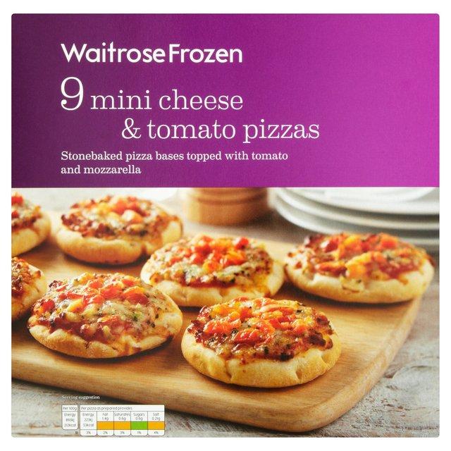 Waitrose Frozen 9 Mini Pizzas Ocado