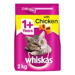 Whiskas Chicken Adult 1+ Dry Cat Food