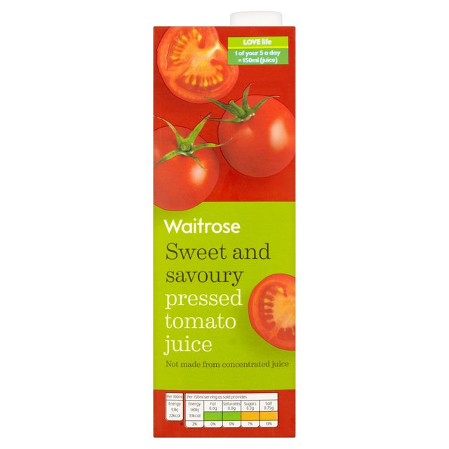 Waitrose Pressed Tomato Juice