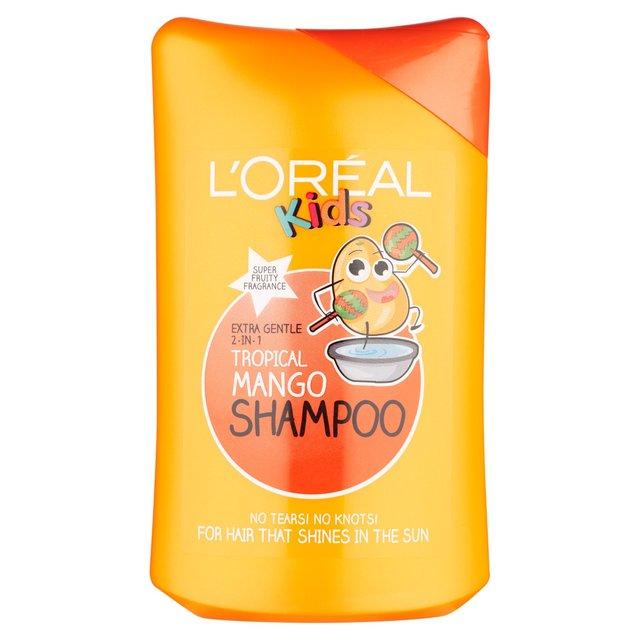 L Oreal Kids Tropical Mango Shampoo 250ml From Ocado