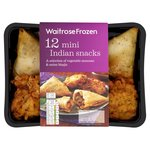 Waitrose 12 Indian Snacks Frozen