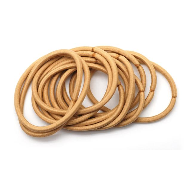 Thick Snag Free Hair Bands, Blonde