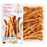 Waitrose Pork Crackling Straws with Apple Sauce Dip